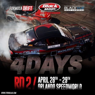 4 DAYS #fdorlando | Round 2 | April 28-29 #formuladrift #formulad