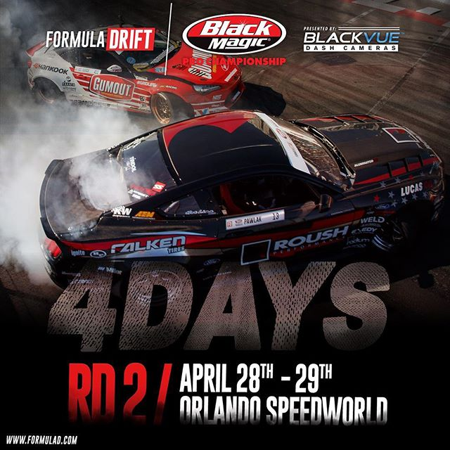 4 DAYS | Round 2 | April 28-29