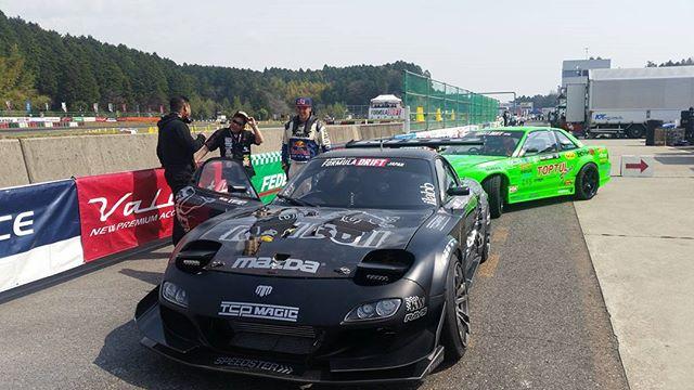 .@madmike.123 ready to roll - Formula Drift Japan Round 1, Suzuka Twin Circuit