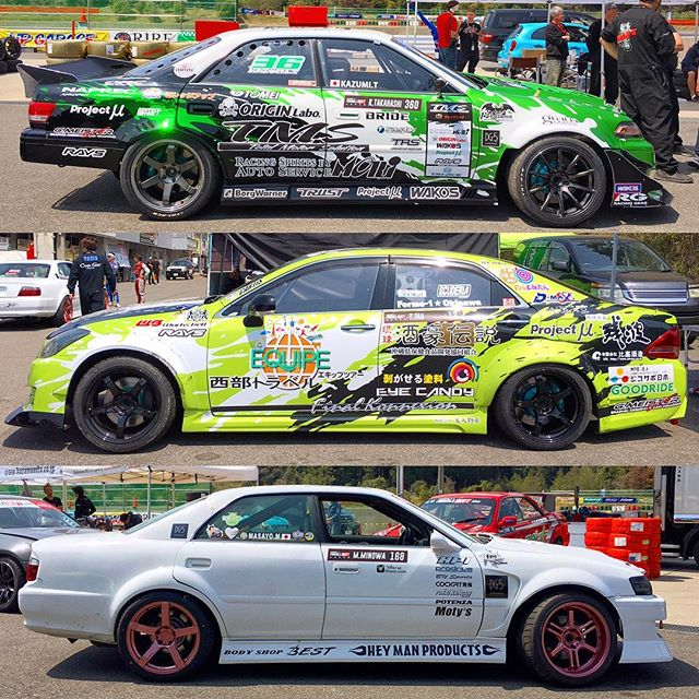 Big body cars at @formuladjapan Round 1.