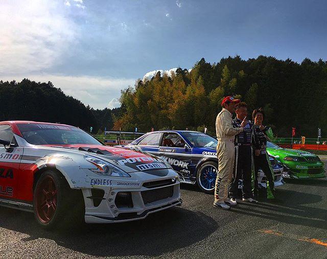 Congrats to @run_free_koichi_yamashita in 1st, @shinjiminowa in 2nd and @kazumi.takahashi_drift in 3rd at @formuladjapan Round 1!