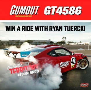 Download the @formulad app and find out how you can win a ride along in the #GT4586 at Orlando Speedworld Friday April 28th! @gumout @blackmagicshine @bcracingna @donutmedia @vibrant_performance @fifteen52 #RT411