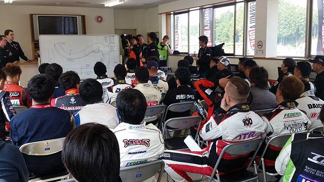 Drivers meeting - Formula Drift Japan Round 1, Suzuka Twin Circuit