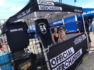 Make sure to stop by our pit and pickup my new gear! The NEVER LIFT and Datsun tee are in stock at @formulad Orlando! If you can't make it out you can also purchase the shirts at shop.chrisforsberg.com #NeverLift #GoldLeaderZ #fdorlando