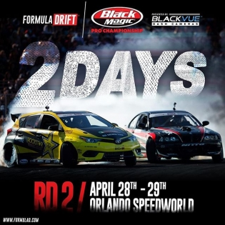 ONLY 2️⃣ DAYS until #fdorlando #formuladrift #formulad