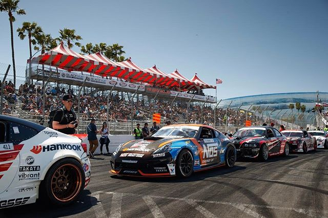 Opening ceremonies at @formulad Long Beach! One of my favorite parts of the weekend! : @larry_chen_foto