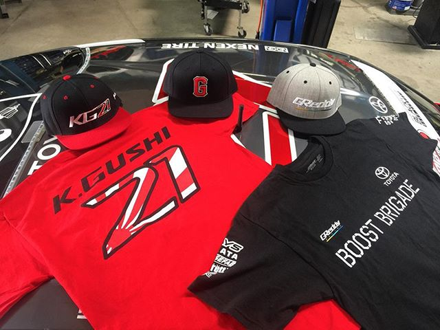 The @teamgreddyracing x @toyotaracing 86 on @nexentireusa is on its way out to rd2, and we are bring along the official merchandise!  Pick some up at our GReddy / @blackvueofficial team pits.  Or you can order the tees, caps and more online on #ShopGReddy.com