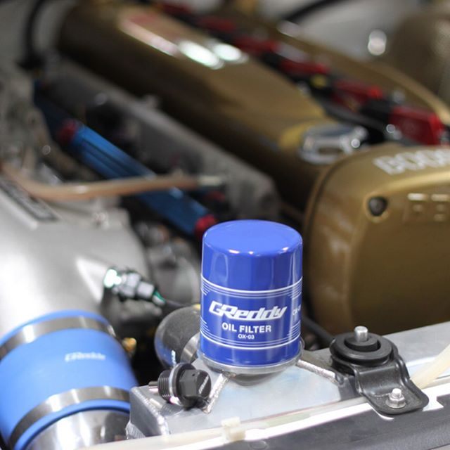 Time for a tune-up?  Service your engine with 5000 gauss Mag-Drain Bolt and GReddy Sports Oil Filter.  4 applications of each to fit most Japanese imports.  Contact  your favorite Authorized GReddy Dealer or #ShopGReddy.com for models...