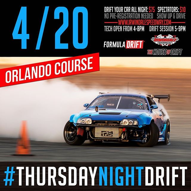 TONIGHT! Join us for at Irwindale Speedway! We will be running the layout!