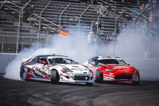 What's up #FormulaDrift fans!! This is @kengushi hacking into the FD account. I'll be taking over for the week. Can't wait to be sliding into the weekend with fellow @toyotaracing teammate @ryantuerck and more. : @valtersboze