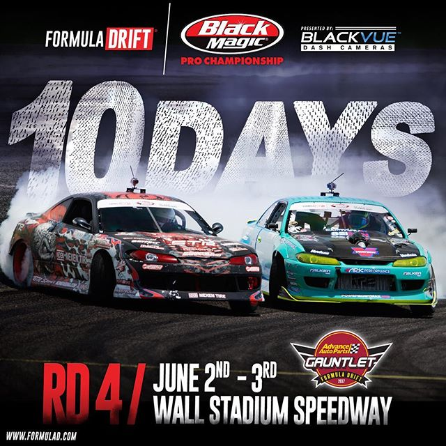 1️⃣0️⃣ DAYS Until Round 4 @advanceautoparts - Wall, NJ Official #️⃣