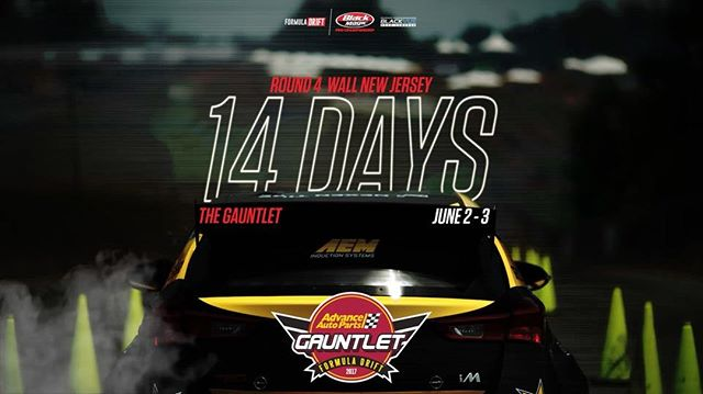 14 DAYS | @advanceautoparts Round 4 - Wall,NJ | Official #️⃣