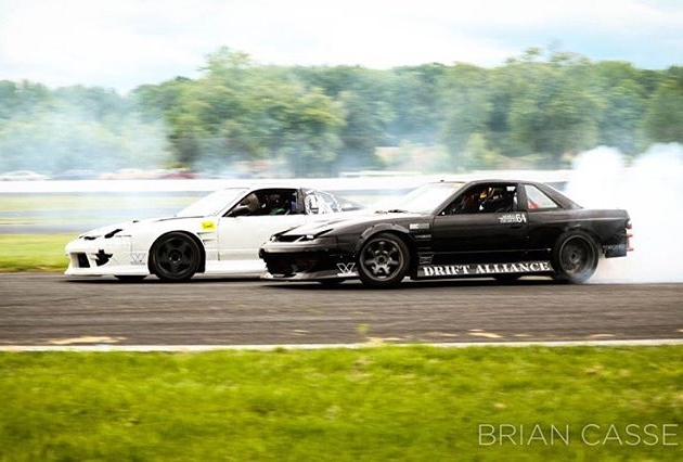 @ryantuerck and I terrorizing the track at @clubloose ECB! #partycars : @brian_casse