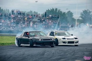 East Coast Bash is over but it was another insanely fun weekend hanging with all the @clubloose bros! @ryantuerck and I were partying in our 240's and got some tandem 100mph entries during the hot lap sessions which was an awesome time! #greatestplaceonearth : @reflectionsofdrift