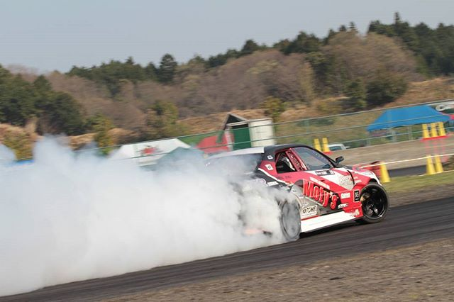 Formula Japan - Smokin! アンドリュー・グレイ Team Kazama with Powervehicles