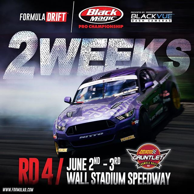 Just about 2 weeks till @advanceautoparts RD 4 - Wall,NJ | June 2 - 3 | Official #️⃣