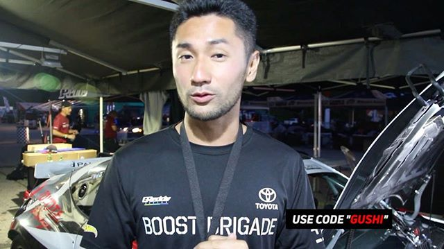 """Make sure you head over to the APP store and download the official Formula DRIFT APP.  Use code """"GUSHI"""" and earn some points @kengushi"""
