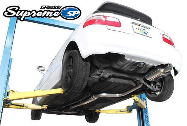 "NEW GReddy Exhaust coming soon!  Arriving state-side, June '17 -  The SP exhaust for iconic (EG) Honda Civic Si hatchback is back.  This time the Supreme SP is tuned specifically for modified EG Civics.  Designed to enhance performance for either bolt-on turbo kits or larger displacement engine swaps, this version features large diameter 76mm (3"") piping, with only a short inlet portion of 63.5mm (2.5"") to allow it to still bolt up to factory catalytic converter flanges.  The large mid-pipe resonator and off-set oval Supreme SP muffler allow for deep rich exhaust note throughout the RPM range.  Careful attention to routing allows for simple install, and OEM like fitment.  All GReddy Supreme SP systems the fully hand-welded 304 Stainless-Steel exhaust carries a Limited Lifetime Warranty  p/n 10158205  MSRP $599."