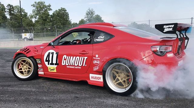 Warm ups before practice in the @gumout today at @formulad #RoadAtlanta. Check this thing out in the @blackmagicshine booth this weekend.