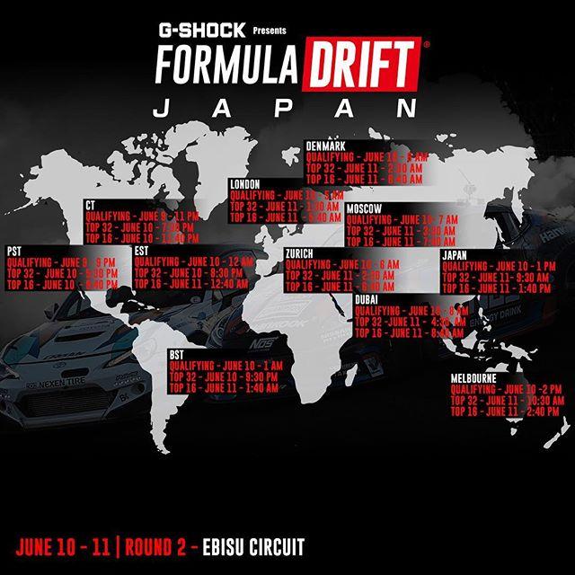 @formuladjapan Top32 starts soon! Catch the livestream at formulad.com/live.