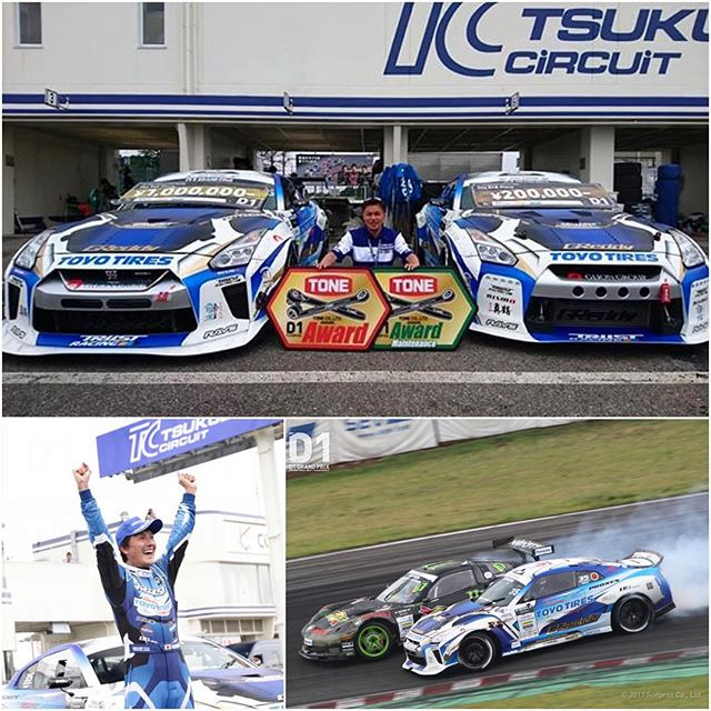Congratulations @trust.greddy on the @d1gpse rd3 - 1st and 3rd place result with the two Toyo Tires GLION GT-Rs