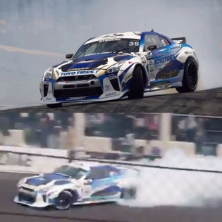 #D1GP #TsukubaCircuit with Kawabata in the other Team Toyo x G Lion @trust.greddy 35RX GT-R #trustracing #greddyracing #boostbrigade