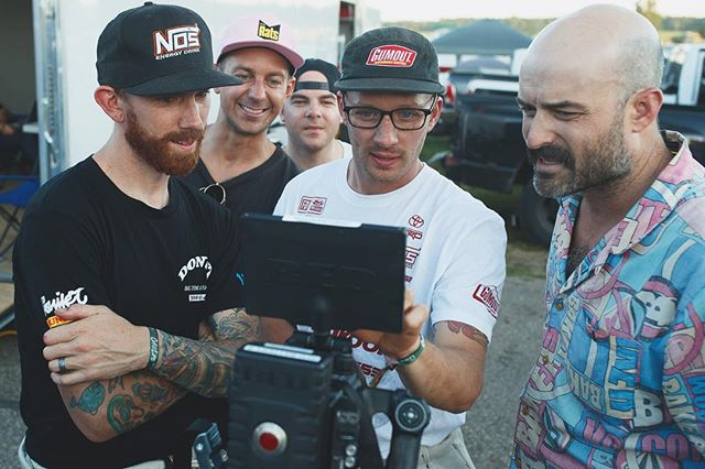 I can't wait for you all to see the footage on this screen we are all looking at. @donutmedia got some bangers from @gridlifeofficial. I also can't wait to see the extended cut. Going to be😎
