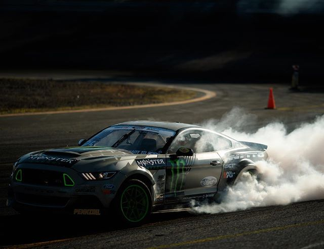 Monday mood! 😎😈 @vaughngittinjr @nittotire @fordperformance