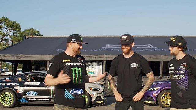 On the latest Black Magic Car Check, we stop by the @mustangrtr pits to see what @vaughngittinjr and @chelseadenofa have to say about their 3 wheeling Mustangs! Link in my profile! @blackmagicshine