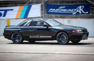 Period correct #GReddy RX #R32 0-400 Drag - See our #Skyline R32 #GTR quick reference list on http://www.greddy.com/featured/68