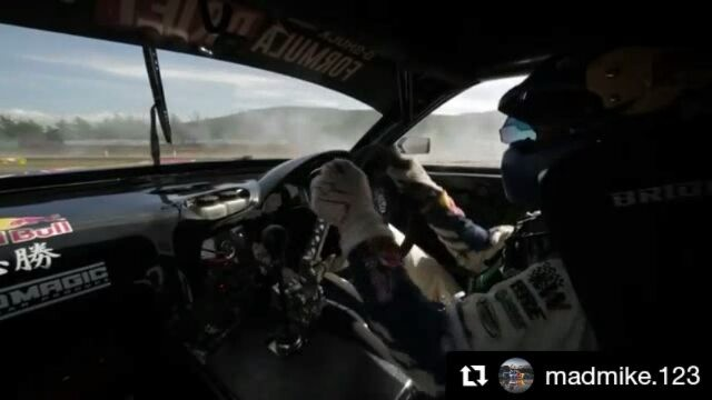 Repost @madmike.123 ・・・ Jump onboard for a lap chasing at @ebisucircuit @formuladjapan Qualifying livestream starts now Link in my bio  @redbull