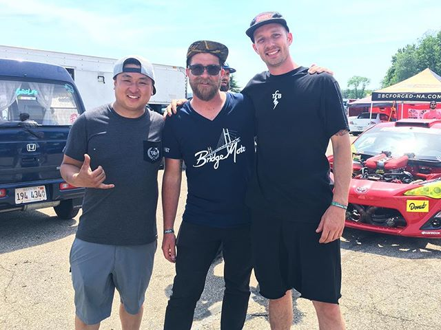 The man himself mr. @gridlifeofficial in the middle of @geoffstoneback and I. Hats off to him and the entire GridLife team. The biggest and best one yet. You guys have truly outdone yourselves 🏻 Going down as my favorite event in years. Peace out Michigan 🏼 can't wait to comeback next year.