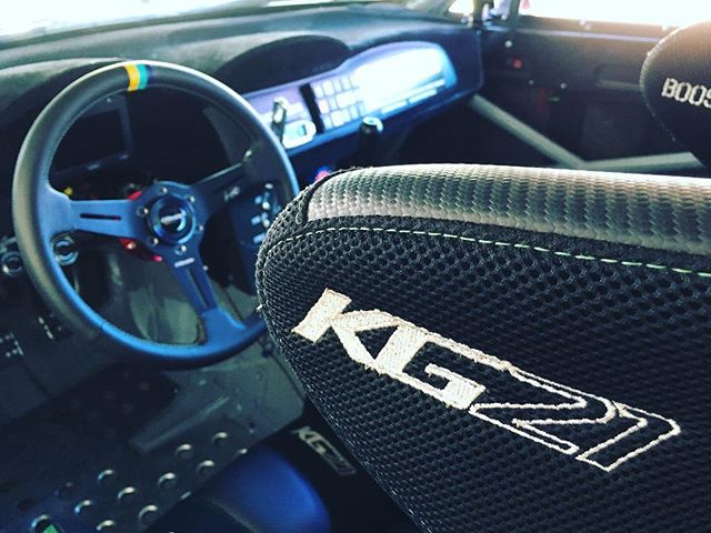 @teamgreddyracing has made it to #FDcanada.  Now it's almost time for @kengushi to competition test his new @greddyperformance steering wheel, that we  installed during the summer break.  See what other upgrades we have made in between rounds.  Follow @teamgreddyracing for more... @toyotaracing @nexentireusa @blackvueofficial @boost_brigade