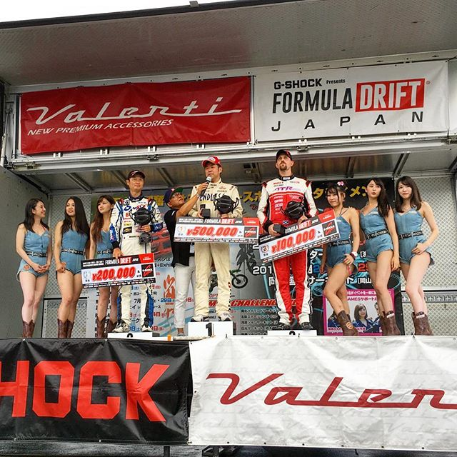 Congratulations to @shinjiminowa in 1st, @mcrfactory in 2nd and @powervehicles100 in 3rd at @formuladjapan Round 3!