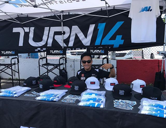 Don't forget to stop by @turn14 booth and pick up some of @__dai__ tees and @undefeatedinc hats!