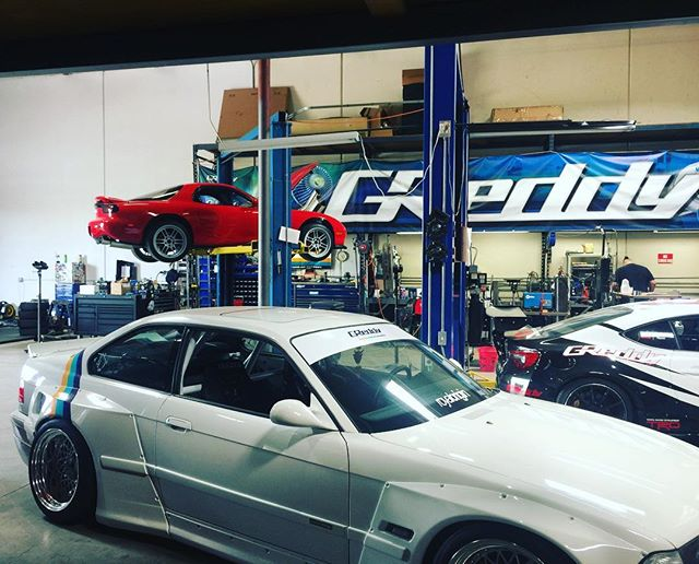 today - some 90's classics. FD3S E36  Contact us at prototype@greddy.com if you are in the local area with a clean unmodified (mildly modified) '15-on Lancer ES, SE, GT / '02-'07 RSX / '95-'98 240SX / '03-'08 350Z / '09-'14 GRB STI