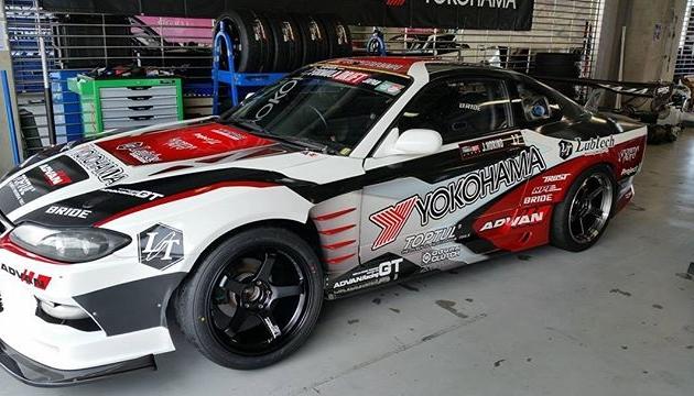 Jin Horino's Yokohama tire S15 - Formula Drift Japan Round.3 Fuji Speedway today + tomorrow #FDJapan #FormulaDriftJapan #FormulaDrift