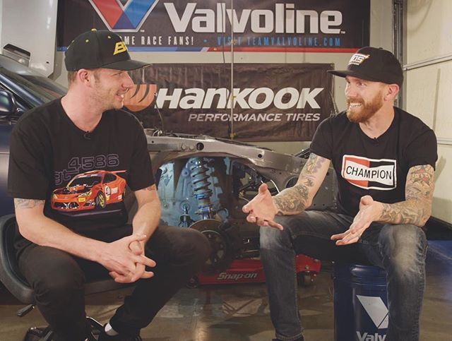 New episode of is live. @chrisforsberg64 and I continue to jam on the @driftidiot S14 with some new @bcracingna coilovers and fresh suspension arms. Hit the link in my profile for the EP🏼🤘🏼😎 also, if you want that shirt I'm wearing, head to ryantuerck.com @valvoline @networka @donutmedia