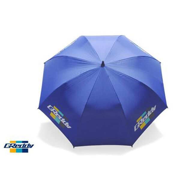New large-size Royal-Blue Umbrella with real carbon shaft... available at #ShopGReddy.com and events