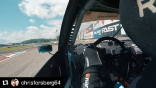Repost @chrisforsberg64 ・・・ A quick clip from practice in Montreal in my twin turbo 370Z slamming the limiter and throwing flames!  : @bcracingna