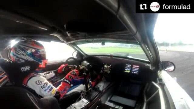Repost @formulad ・・・ Good morning fellas!!! Check out my onboard from yesterdays practice! Not the best run, but at least you can see what we are dealing with btw way there is wall tap too!!!