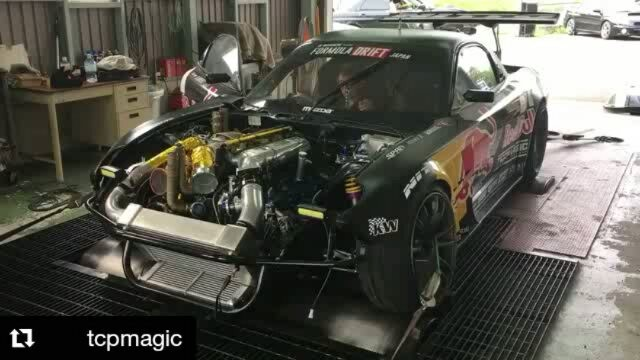 Repost @tcpmagic ・・・ Would you like to see  twin turbo??