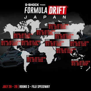 Tune in tonight for @formuladjapan RD 3 - Fuji Speedway #formuladrift #formulad #fdjapan www.formulad.com/live