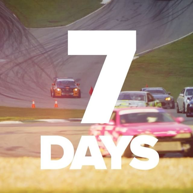 7 days to @gridlifeofficial South. If you haven't gotten tickets yet hit the link in my profile and come to the best music motorsports festival to hit the US. Who's already coming out besides @ludacris???