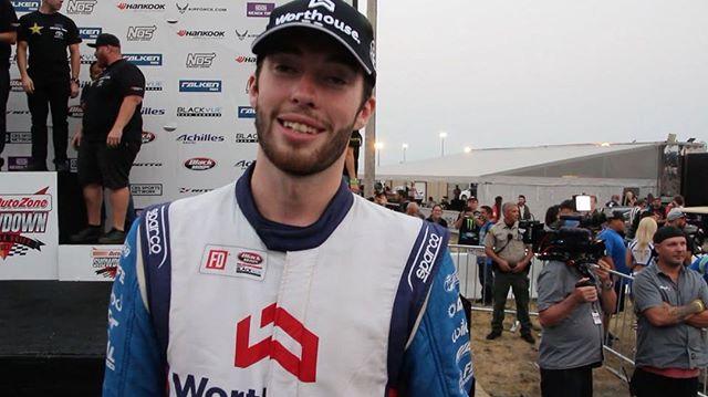 "@jamesdeane130 with @falkentire takes the win here  at @autozone ""Throw Down"" round 6 - Monroe, Washington of the Formula DRIFT series!"