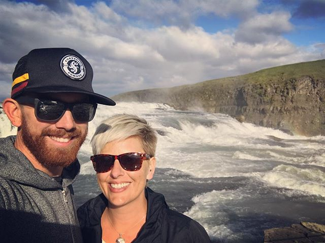 After a very successful event yesterday @michforsberg and I are back on the road! Trying to see as much of Iceland as we can before heading back home.