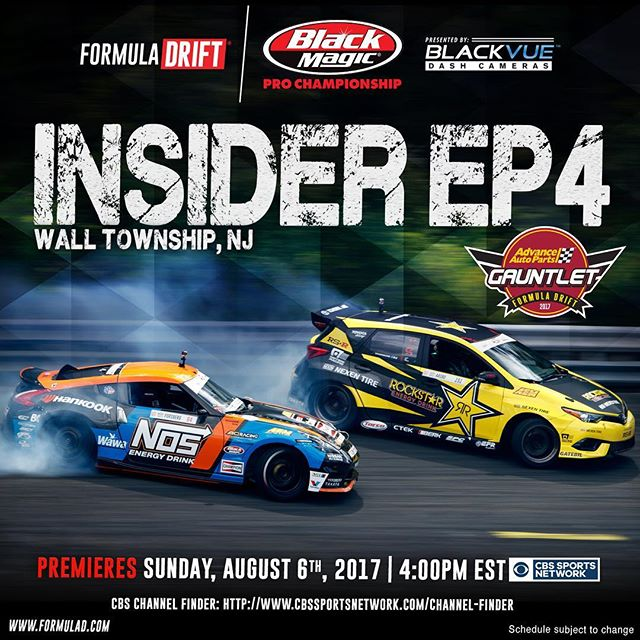 Later today tune in at 4:00 PM EST later today on @cbssports Network Insider Episode 4 - Wall, NJ