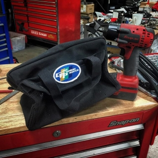 Perfect for tools on the go... (and #formulad #5min calls) #GReddyGPP canvas tool bag. Available on #ShopGReddy.com (Sorry @snapon_official tools not included)