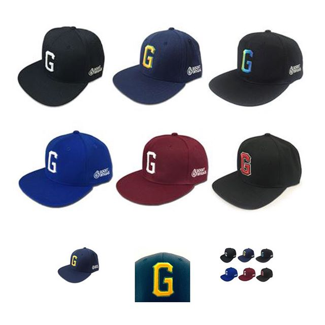 "#ShopGReddy.com choices - ""G"" Snap-backs and the Custom Black & White Fitted Caps."