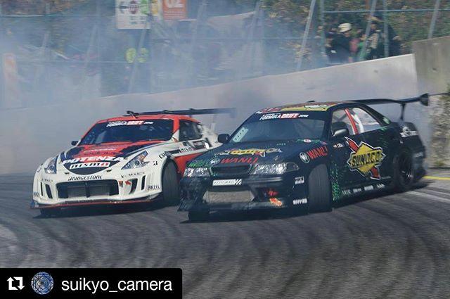 Repost @suikyo_camera ・・・ * モータースポーツの秋️ * 奥伊吹でフォーミュラドリフト観てます * *